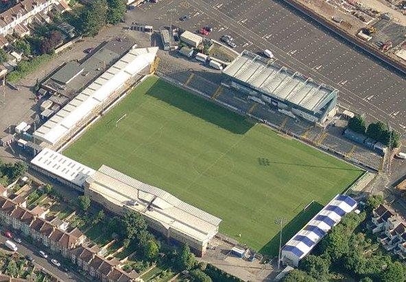 Memorial Stadium Bristol Rovers Football Club
