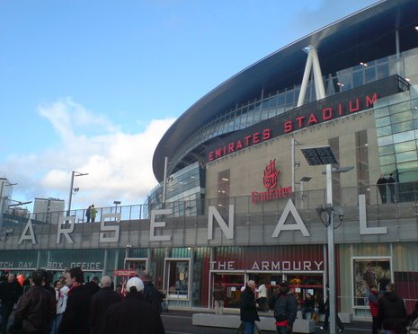 The Emirates Stadium - Arsenal