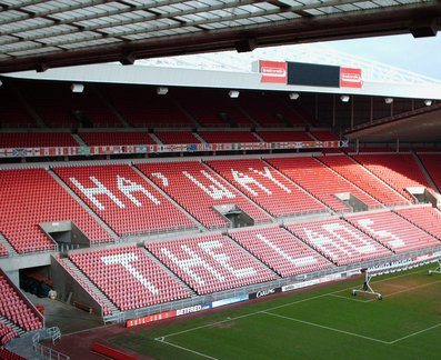 The Stadium of Light - Sunderland