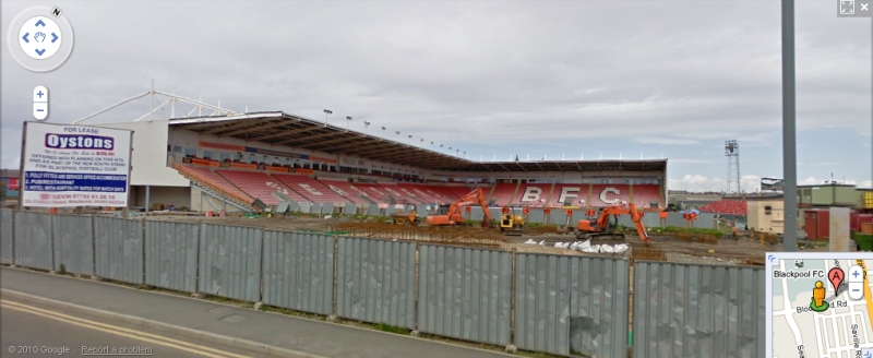 Bloomfield Road - Google Maps Street View