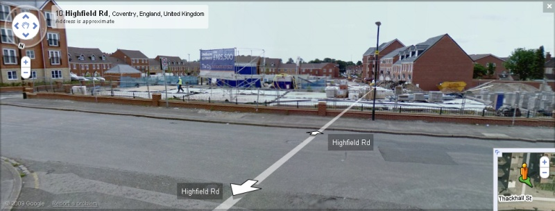 Highfield Road - Google Maps Street View