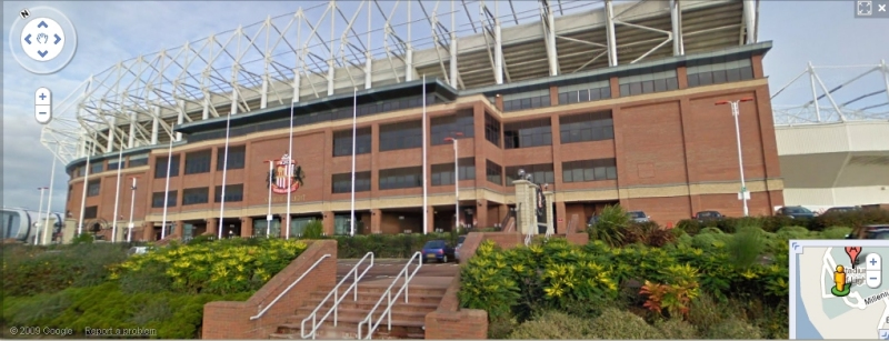Stadium of Light - Google Maps Street View